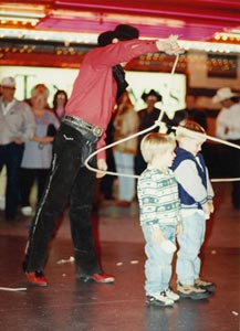 Roping in the Kids